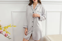 Load image into Gallery viewer, Satin Night Shirt (6011)- IN STOCK