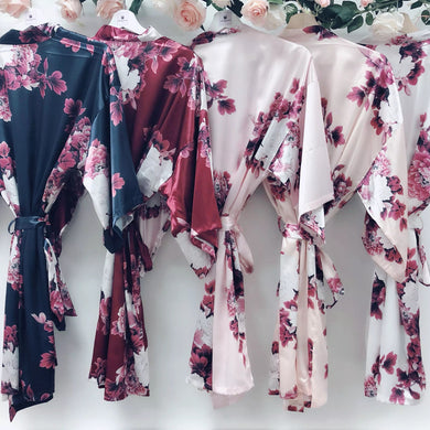 Floral Robe style 3033-preorder closing April 14th