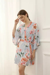 Floral Ruffle Robes (6012)-preorder closing March 3rd