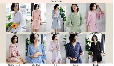 Ruffle Robes (6008)-preorder closing April 14th