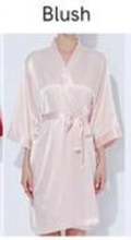 Load image into Gallery viewer, Satin Solid Robe(3019)-preorder March 3rd