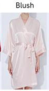 Satin Solid Robe(3019)-preorder March 3rd