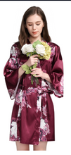 Load image into Gallery viewer, Floral Robe style 3033-preorder closing May 12th