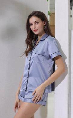 Satin Short Sleeved PJ Set-preorder April 14th