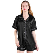 Load image into Gallery viewer, Satin Short Sleeved PJ Set-preorder March 3rd