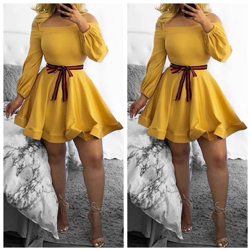 Trisha skater dress - Vixenaffairshop