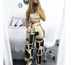 Painted affair jumpsuit - Vixenaffairshop