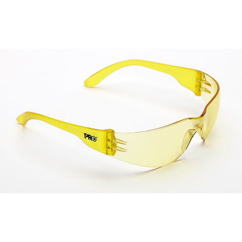 Amber Tsunami Safety Glasses