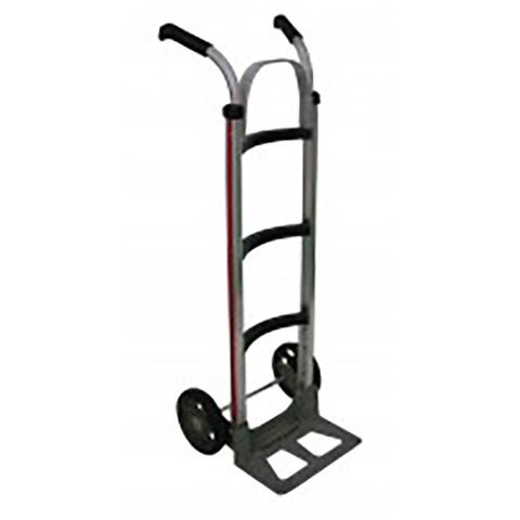Curved Back Small Handtruck with Double Grip Handle