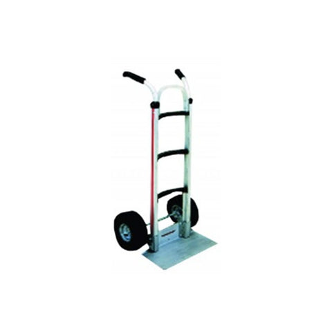 Magliner Curved Back Medium Handtruck with Double Grip Handle and Folding D Nose