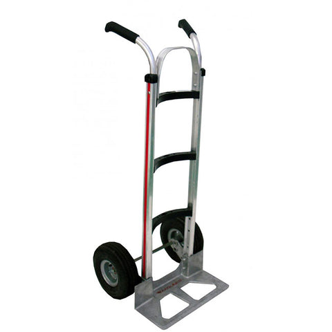 Curved Back Medium Handtruck with Double Grip Handle