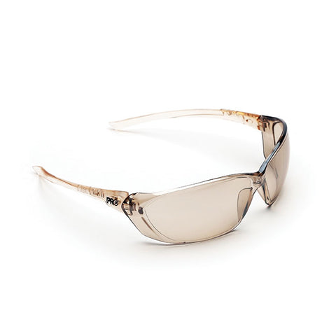 Light Brown/Flash Silver Richter Safety Glasses