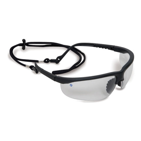 Clear Fusion Safety Glasses with Bonus Cord