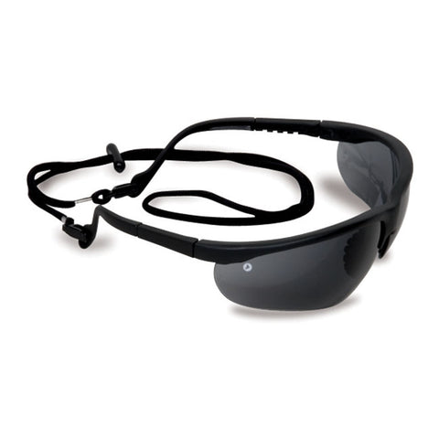 Smoke Fusion Safety Glasses with Bonus Cord