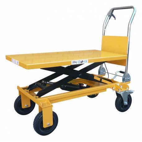 200kg Rough Terrain Scissor Table - AS200