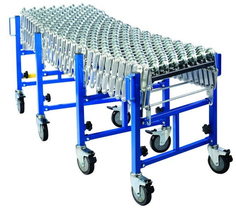AS600-SKATE-HEAVY DUTY SKATE WHEEL EXPANDABLE CONVEYOR