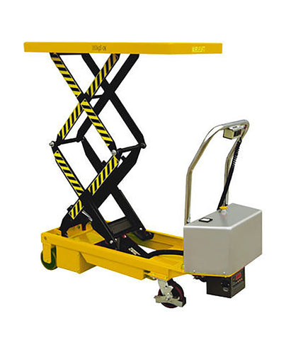 350kg Battery Electric Double Scissor Lift Table - ASTFD35