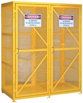 "18 x ""G"" Cylinders Gas Cylinder Storage Cage - GC18"