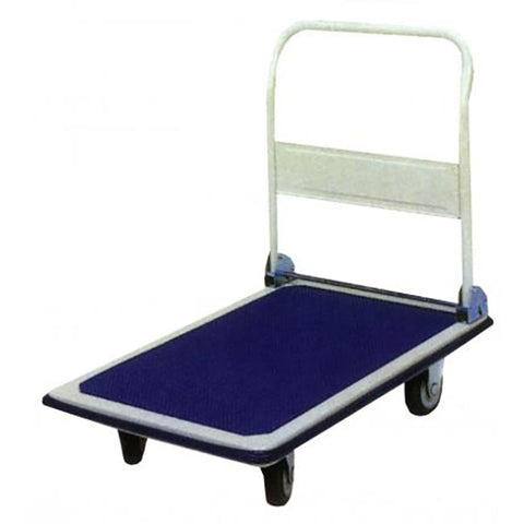 300kg Capacity Platform Trolley with Folding Handle