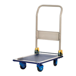 NB101 Prestar Single Steel Platform Trolley With One Folding Handle