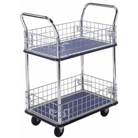 Prestar 2 Tier Traymobile with Removable Mesh Sides - NB127