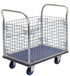 Prestar Platform Trolley with Removable Wire Mesh Sides - NF307