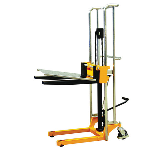 PL400 - FORK AND PLATFORM STACKER 400kg CAPACITY
