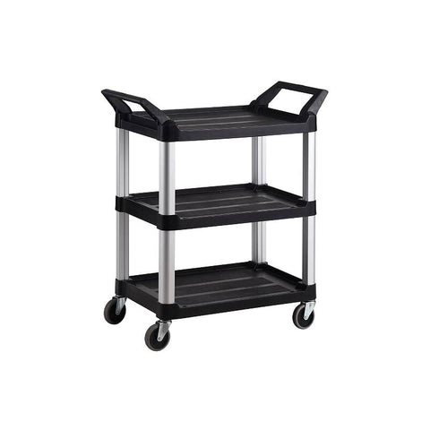 Trust Utility Cart 3 Tier Service Trolley - RT4011-BLACK