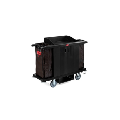 Trust GRANDMAID Housekeeping Cart with Doors - RT5022