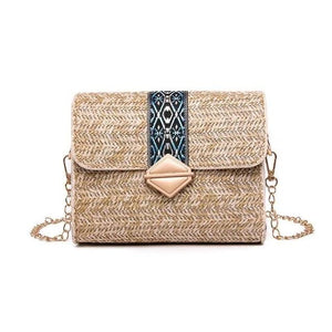 Cane Woven Cross Body Bag - Givac Roma