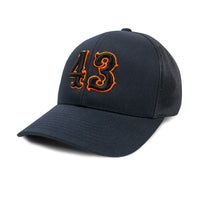 Pacific 104C Trucker Mesh Hat (Snap Back) w  Old School 3D Font ... 36f19d35d48