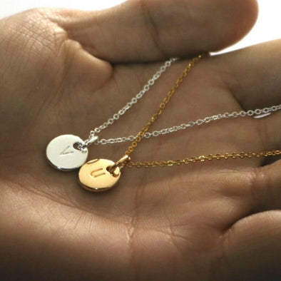 Personalized Initial Letter Necklace
