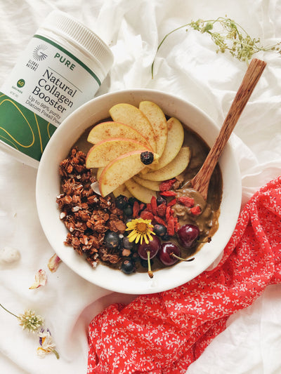 Everything Chocolate Oatmeal Bowl