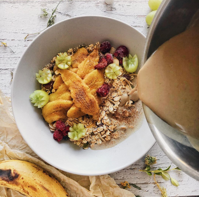 Chai-spiced Protein Muesli Bowl
