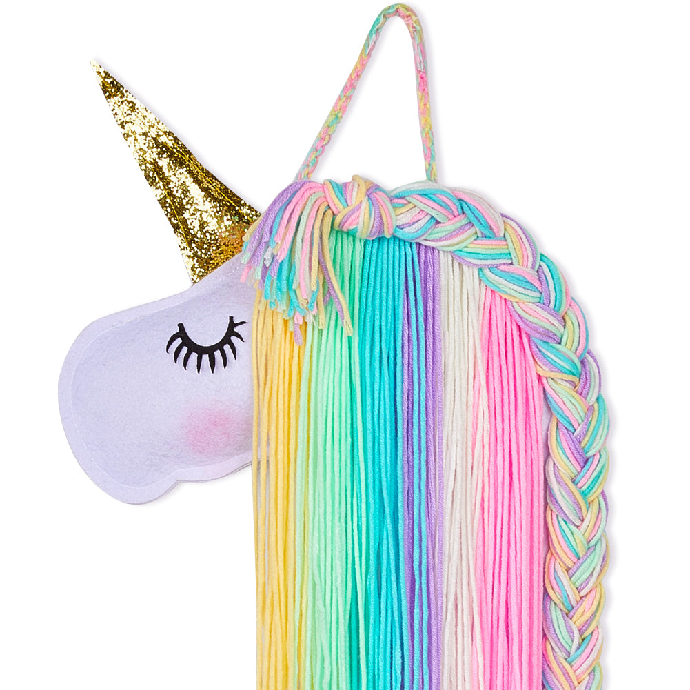 Unicorn Hair Clips Holder