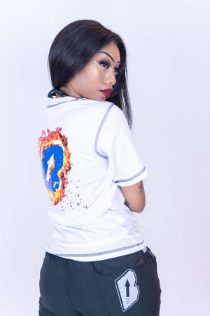 "Bankup ""B on Fire"" Tee - Bankup Worldwide"