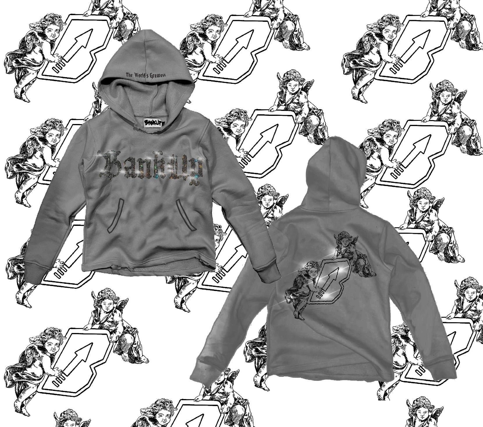Bankup Anointed Angels Pullover Hoodie - Bankup Worldwide
