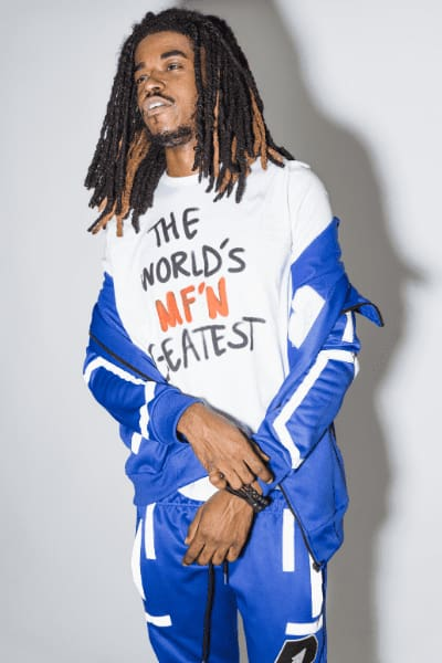 Worlds Mf Greatest L/S Shirt - Bankup Worldwide