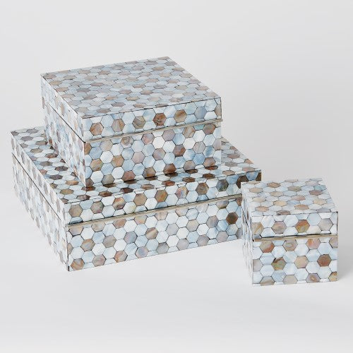 MOTHER OF PEARL BOX MED