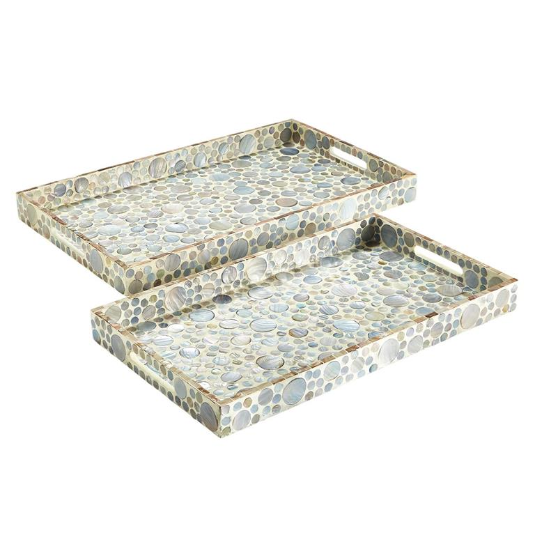 MOTHER OF PEARL TRAY LARGE