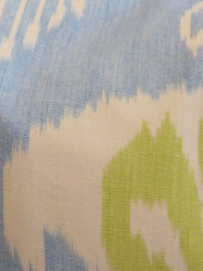 "Z - THE ARIANNA PILLOW - Ikat Blue  - 22"" x 22""       -    Two in Stock  -  FREE SHIPPING"