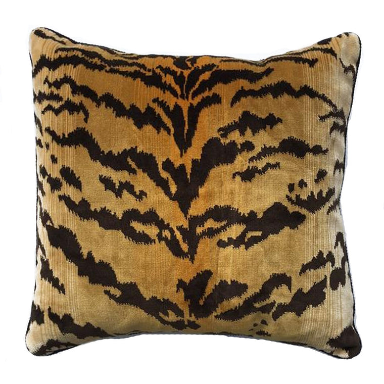 Z - THE ALIA PILLOW - ANIMAL PRINT - Two In Stock- FREE SHIPPING