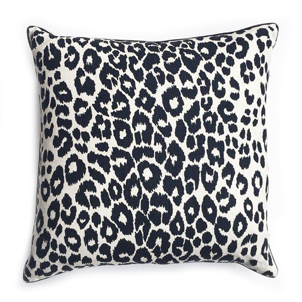 "ZZ - THE BETTY PILLOW  -  Iconic Leopard Pattern  -  22"" x 22""  -  Two in Stock"