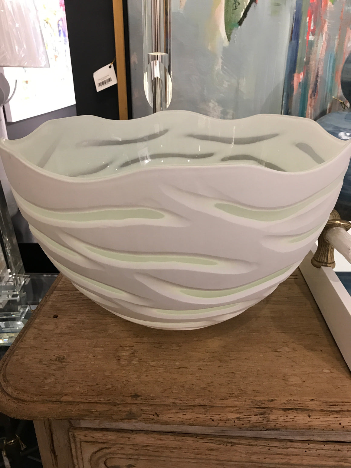 WhiteTigera bowl