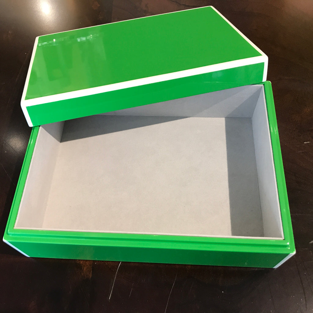 STORAGE BOX LACQUER - MED
