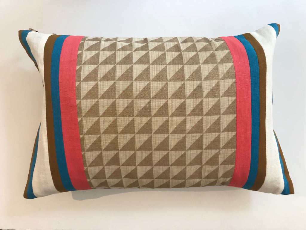 SAND RIB PILLOW - FREE SHIPPING- 12X20 -TWO IN STOCK