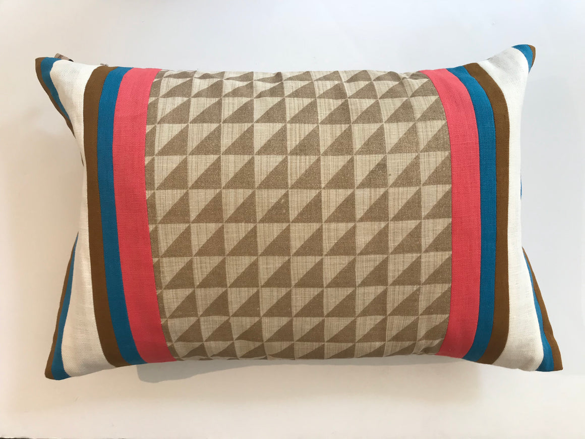 SAND RIB PILLOW - FREE SHIPPING- 12X20
