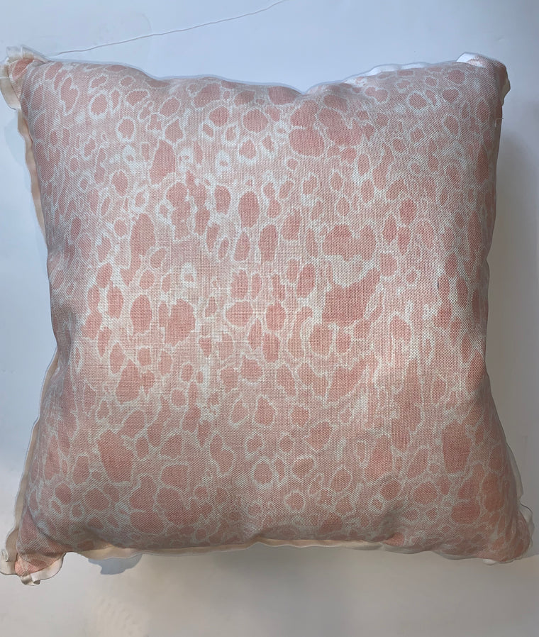 KALAHARI BLUSH PILLOW 22X22