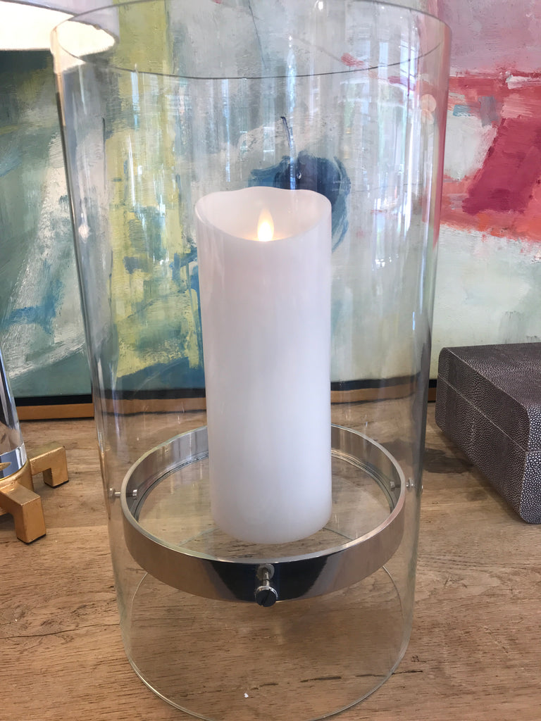 FLOATING CANDELHOLDER 15.75X9X9
