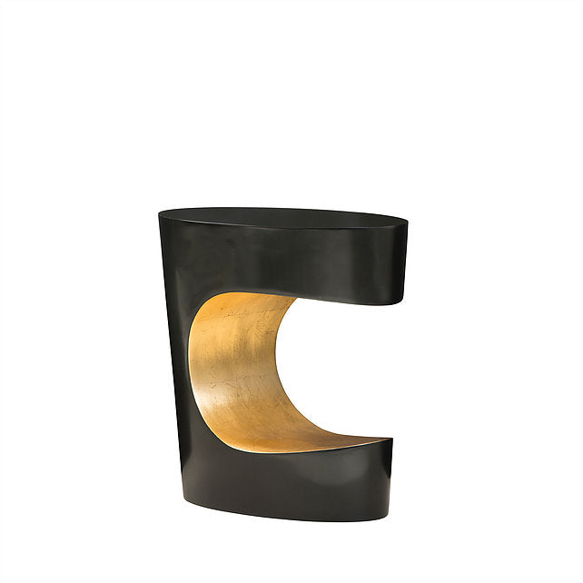 "BLACK & GOLD ""C"" TABLE"